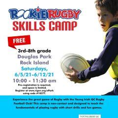 Rock Island Debuting Free Rugby Skills Camp At Douglas Park