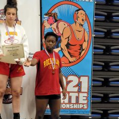 Rock Island's Sanaa Hampton Finishes Seventh In The State In Wrestling
