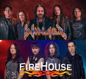 NEW CONCERT ALERT! Winger And Firehouse Coming To Moline's TaxSlayer Center