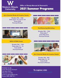 Enrollment Spots Still Available for Western Illinois University Summer Youth Program