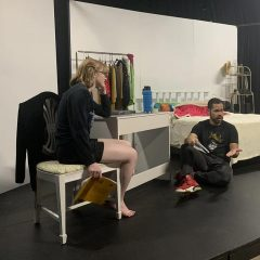 """""""I and You"""" at Black Box Theatre features Adrienne Jane and Michael Alexander."""
