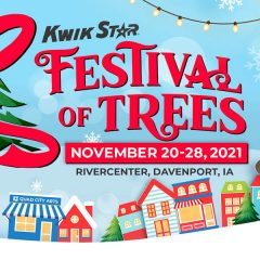 Quad City Arts to Bring Back In-Person Festival of Trees in November