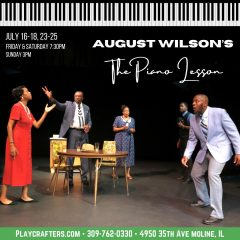 """REVIEW: Playcrafters' """"The Piano Lesson"""" Has Strong, Charismatic Cast, But Doesn't Quite Hit The Right Notes"""