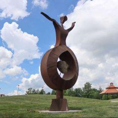 Quad City Arts Public Sculpture Program Pleases Artists and Property Owners
