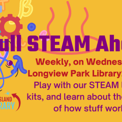 Rock Island Public Library's Bookmobile Is Going Full STEAM Ahead At Longview Park Wednesdays