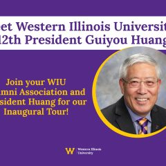 Western Illinois University President Huang Continues Inaugural Alumni & Friends Tour With Moline Stop