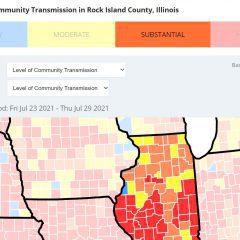 BREAKING: Covid Numbers Spiking Again In Rock Island County