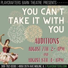 Moline's Playcrafters Holding Auditions For 'You Can't Take It With You'