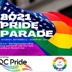 Quad-Cities Pride Parade Shines On Downtown Davenport Saturday