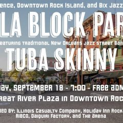 New Orleans Comes To Downtown Rock Island In New Block Party Event