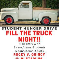 Rock Island High School Student Council Holding Student Hunger Drive TONIGHT
