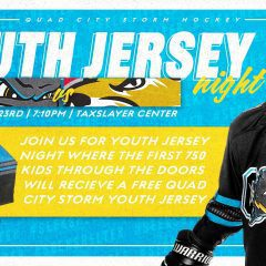 Quad City Storm Return To Action Saturday With Youth Jersey Night!